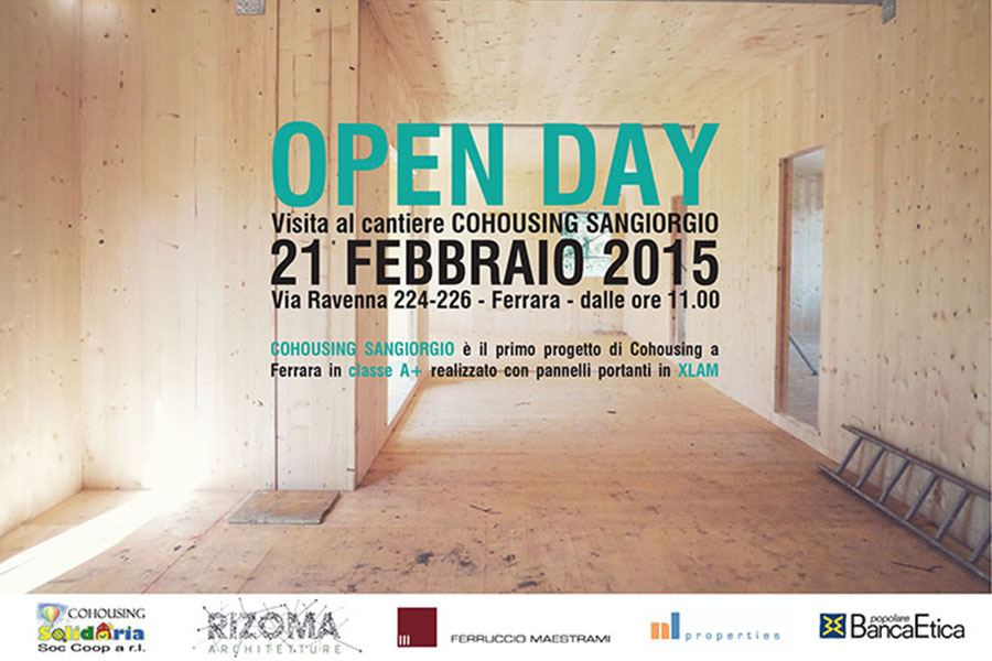 OPEN DAY COHOUSING SANGIORGIO